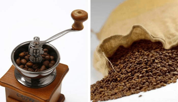 Prepara il caffè di moka.