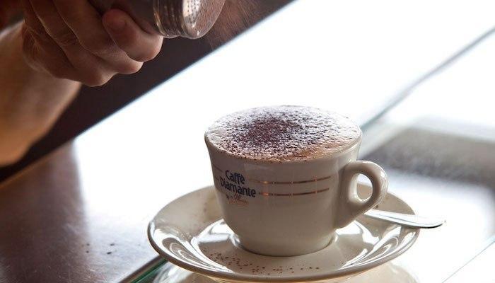 La panna: abbiamo già il nostro caffè